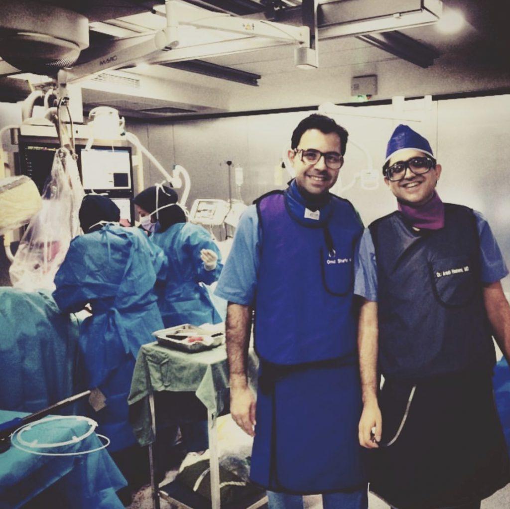 دکتر آرش هاشمی | متخصص قلب و عروق | اینترونشنال کاردیولوژیست | آنژیوگرافی عروق کرونر